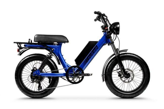 Moped Style Electric Bike is the cheap best electric bike for students and workers.