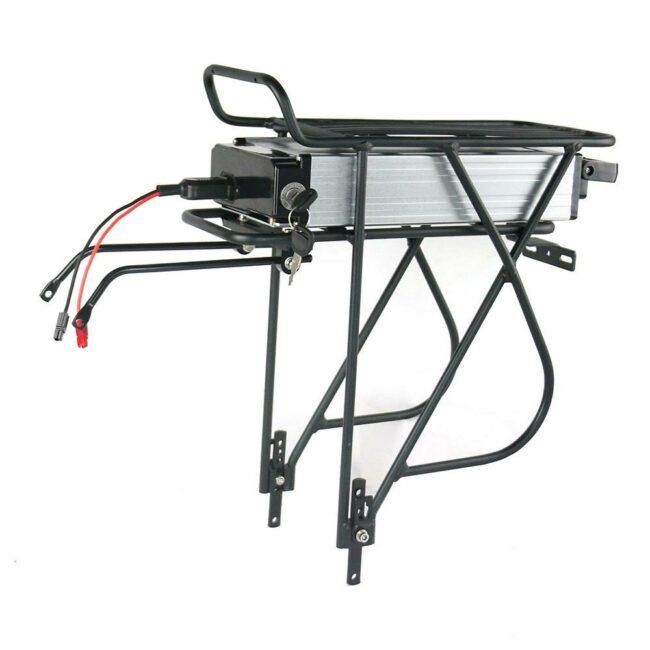 E-Bike battery - Rear rack style case.