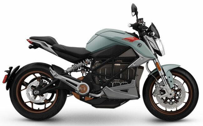 Electric motorcycle for zero carbon emission