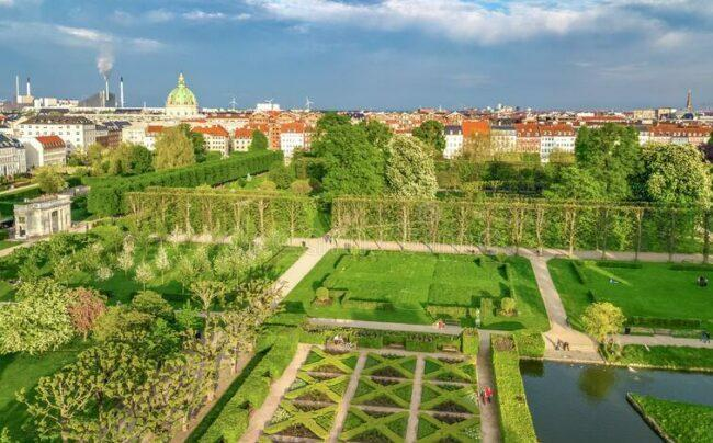 Parks in the city improve living quality