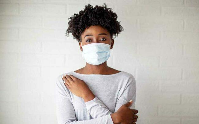 Use mask when go outing as a good health habit after COVID 19