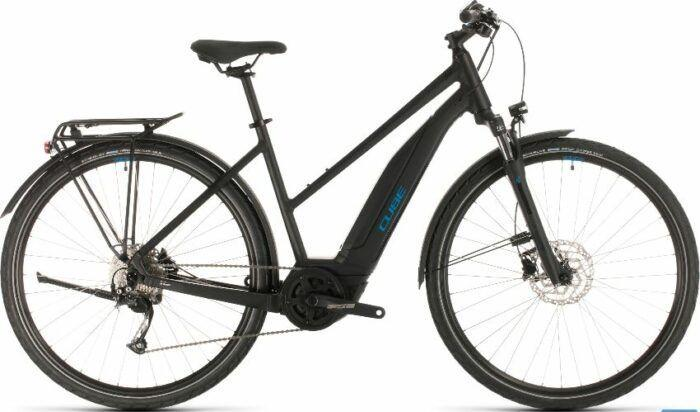 Cube Touring Hybrid One 400 Trapeze Electric Bike 2020 is model #1 Cube Electric Bikes Sale