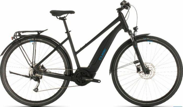 Cube Touring Hybrid One 400 Allroad Trapeze Electric Bike 2020 is model #2 Cube Electric Bikes sale.
