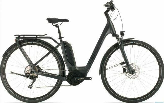 Cube Touring Hybrid Pro 500 Easy Entry Electric Bike 2020 is model #3 Cube Electric Bikes sale.