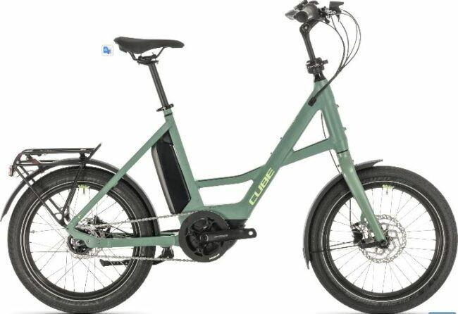Cube Compact Hybrid 20in Electric Bike 2020 is model #4 Cube Electric Bikes sale.