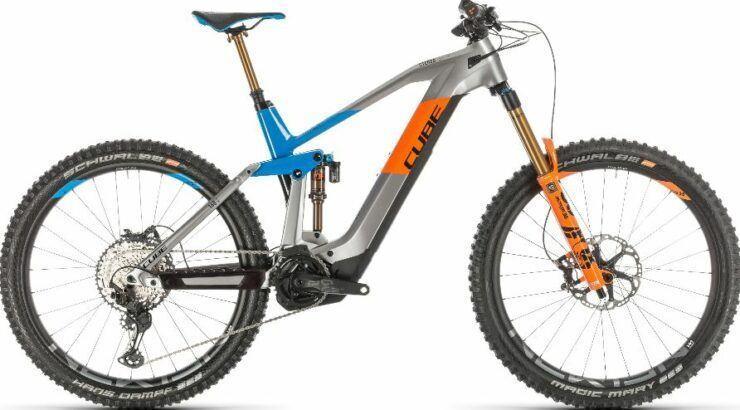 Cube Stereo Hybrid 160 HPC 625 27.5 Mountain Bike 2020 is model #6 Cube Electric Bikes sale.