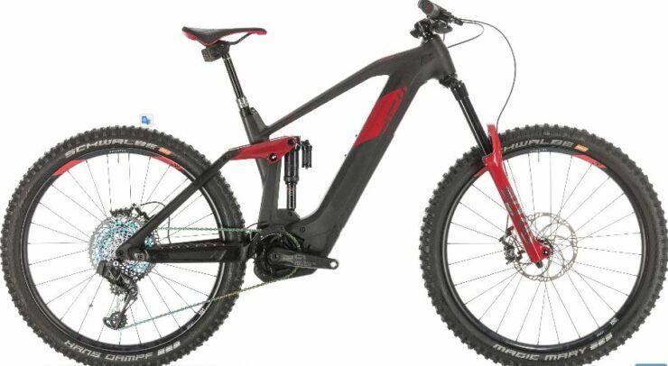 Cube Stereo Hybrid 160 HPC SLT 625 27.5 Mountain Bike is model #7 Cube Electric Bikes sale.
