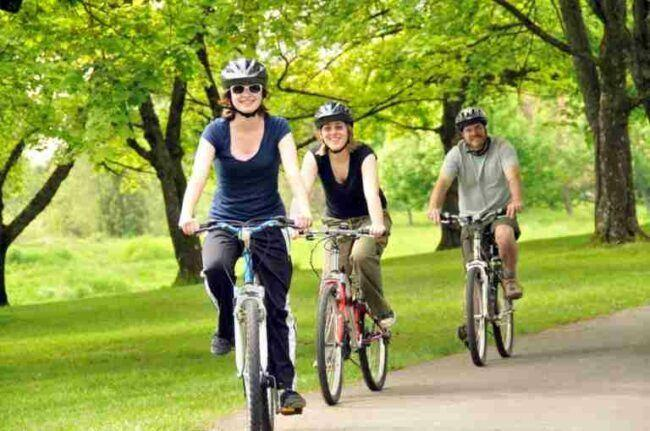 Leisure riding as post feature image for best electric bikes for sale in the UK