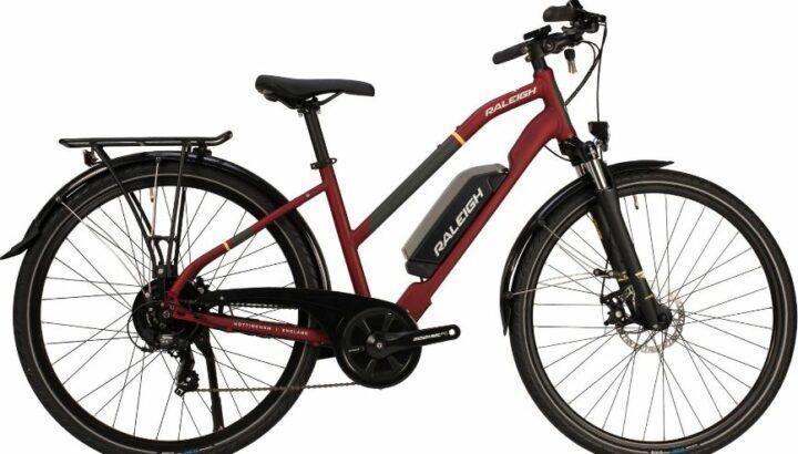 Raleigh Array open derailleur Hybrid Electric Bike 2020 as model #7 Women Electric Bikes Sale