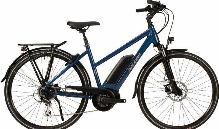 Raleigh Motus Tour Open Derailleur Hybrid Electric Bike 2020 as model #8 Women Electric Bikes Sale