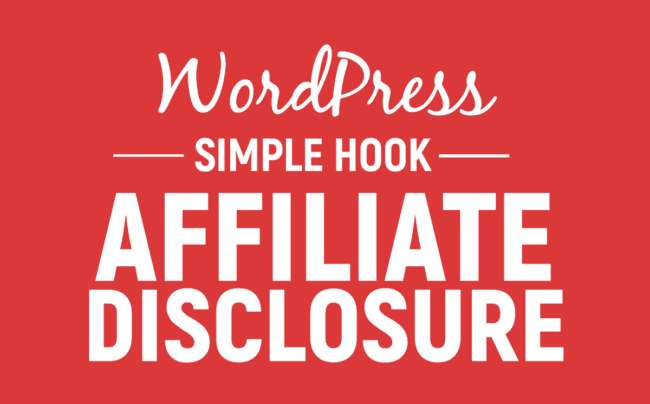 Feature image for Affiliate Disclosure page