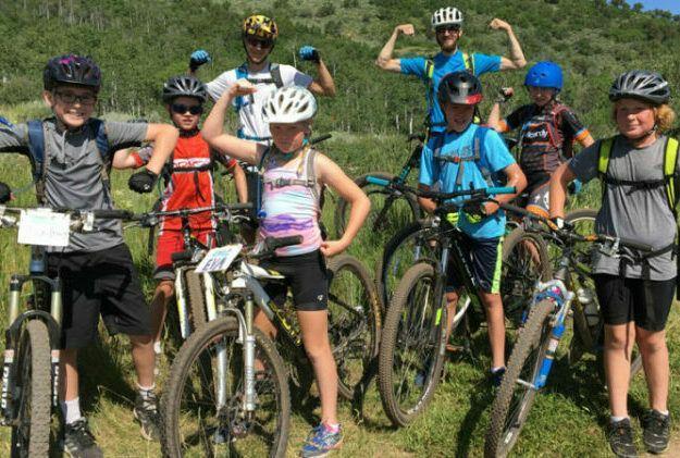 Women mountain biking is rising