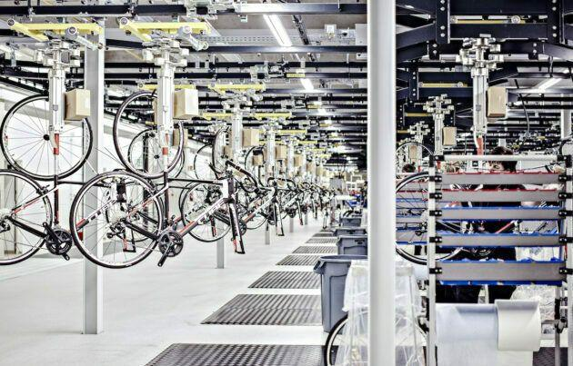 Cube Bikes Assembly Warehouse is great and productive