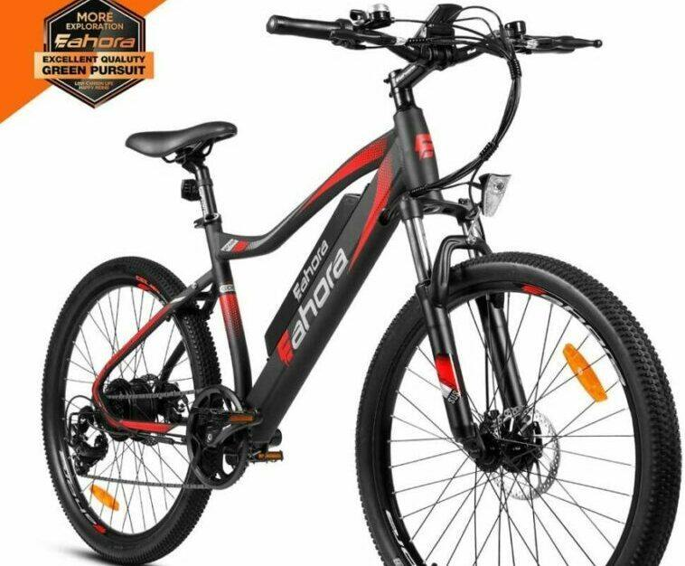 Eahora XC100 is selected as model #2 electric bikes for heavy people