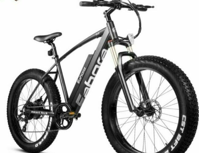Eahora XC200 is selected as model #3 electric bikes for heavy people