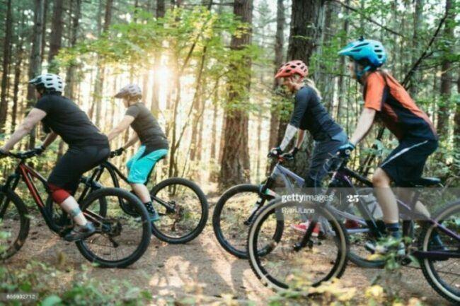 Rising trend of Women Mountain Bikes Team