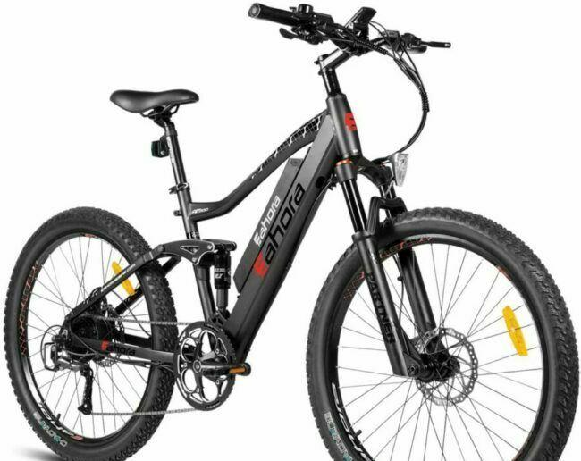 Eahora AM100 is selected as electric bikes for heavy people.