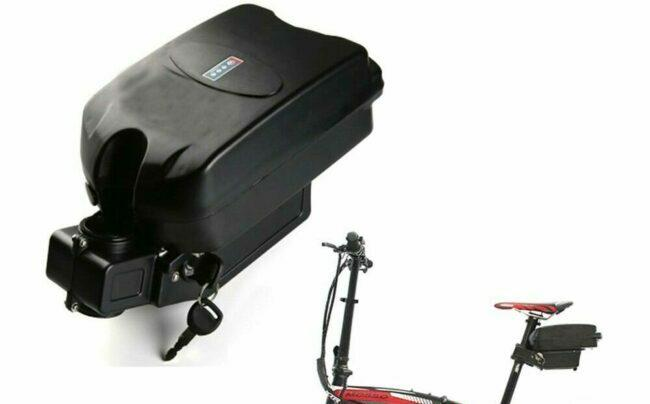 Application for Frog type e-bike battery.