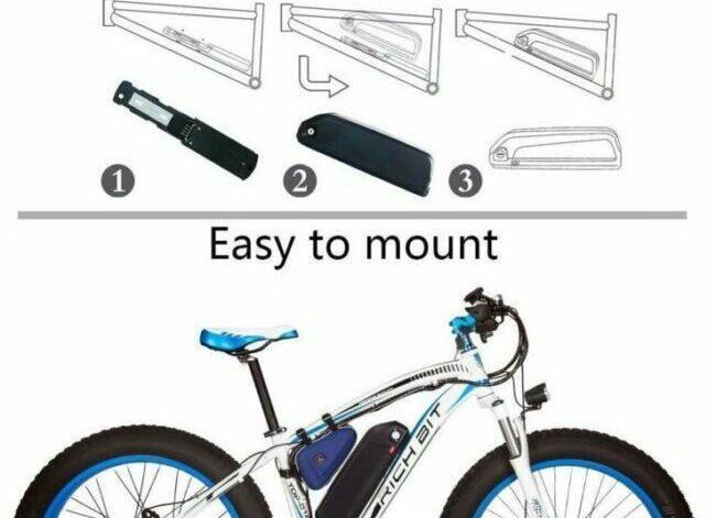 Application for Hailong S039-3 e-bike battery