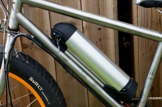 Application for S002-2 Water Bottle e-bike battery
