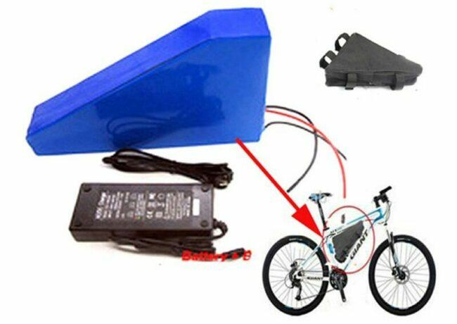 Application for Triangle Type e-bike battery
