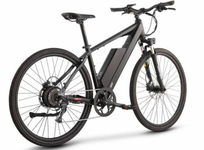 Cross Current Mope Electric Bike as model #3 Best buy electric bike - juiced bike.
