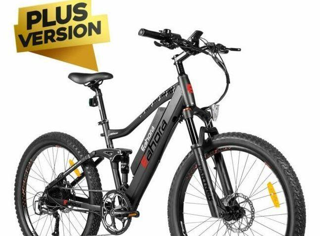 EAHORA AM100 PLUS Mountain Electric Bike as model #6 best bike for cities.