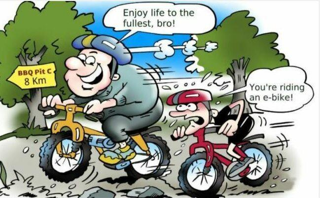 Electric bike give you more power to speed - ride safely