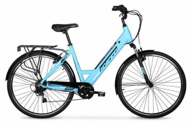Hyper E-ride electric bike as model #1 best electric bike for women