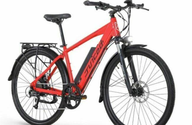 Juiced Bike CrossCurrent S2 as model #8 electric bikes for work