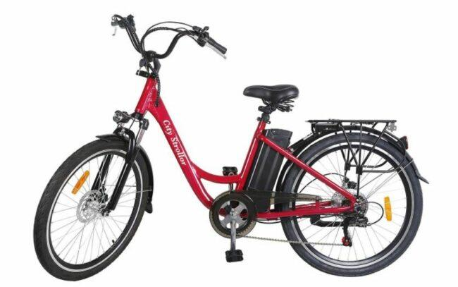 NAKTO City Stroller Electric Bicycle as model #6 best electric bike for women