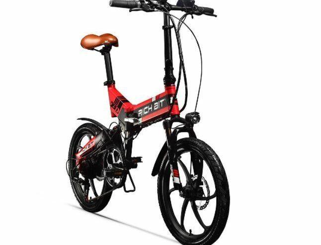 RICH BIT TOP-730 folding electric bike as model #16 electric bikes for work