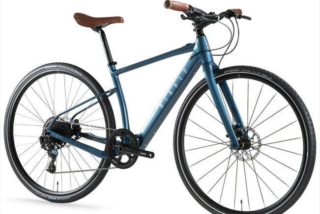 Ribble Hybrid AL e - Blue as model #10 electric bikes for work