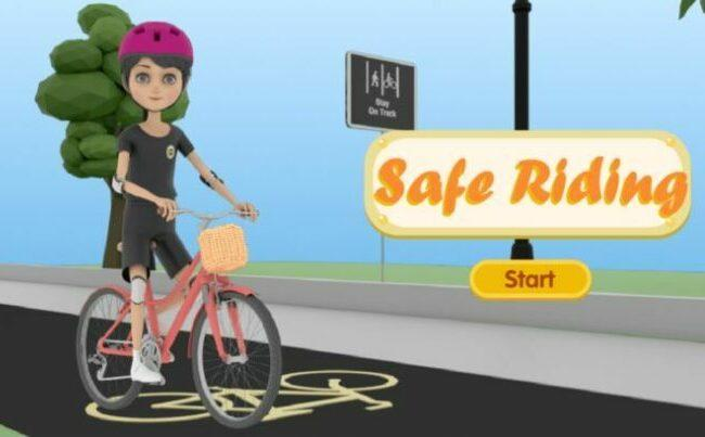 Safe riding as a featured image for post - ride electric bikes safely.