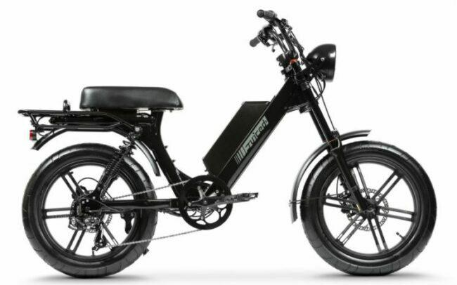Scorpion Moped Style as model #5 electric bikes for work