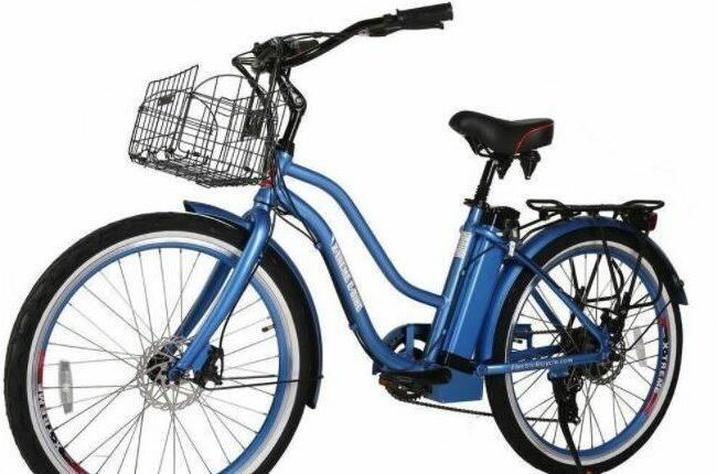 X-Treme Malibu Electric Bike as model #4 best electric bike for women