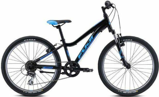 Fuji Dynamite 24 COMP Kids Bike as model #3 best mountain bike for children.