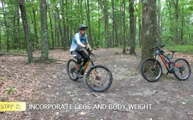 Manual Step 2 - Incorporate Legs and body weight.