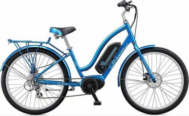 Schwinn EC1 electric cruiser-style bicycle as model #1 electric bikes for beginners