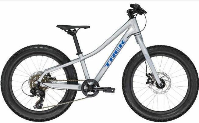Trek Roscoe 20 Kids Mountain Bike as model #2 best mountain bikes for children.
