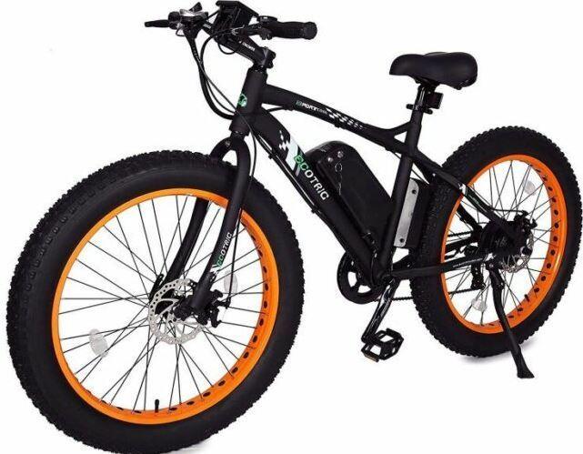 Ecotric Powerful Fat Tire e-bike is a work-well budget bike.