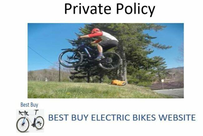 As Feature Image for Private Policy - Best Buy Electric Bikes Website