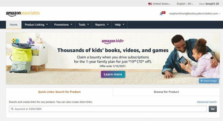 Snapshot As Amazon Associates for image show at Affiliate Disclosure Page