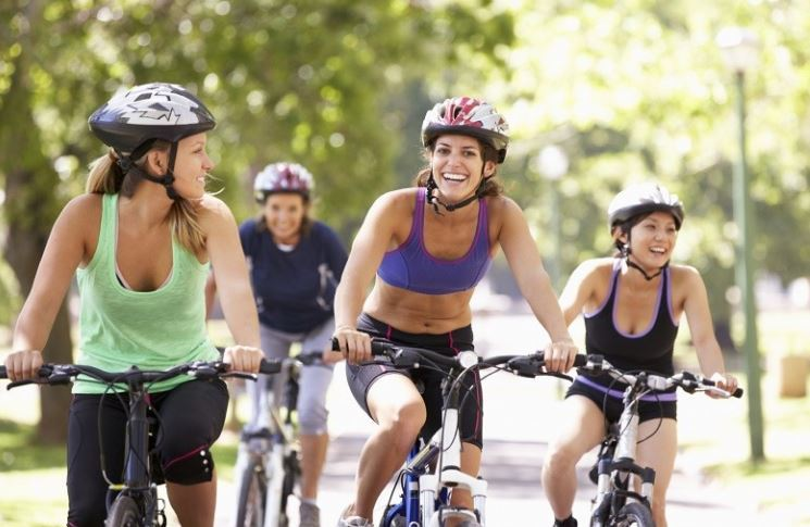 Women Biking Tour as the featured image for Women Hybrid Bikes Sale
