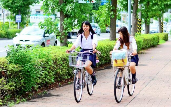 Cycling in Tokyo as the featured image for Micargi Lumia Electric Bike Post.