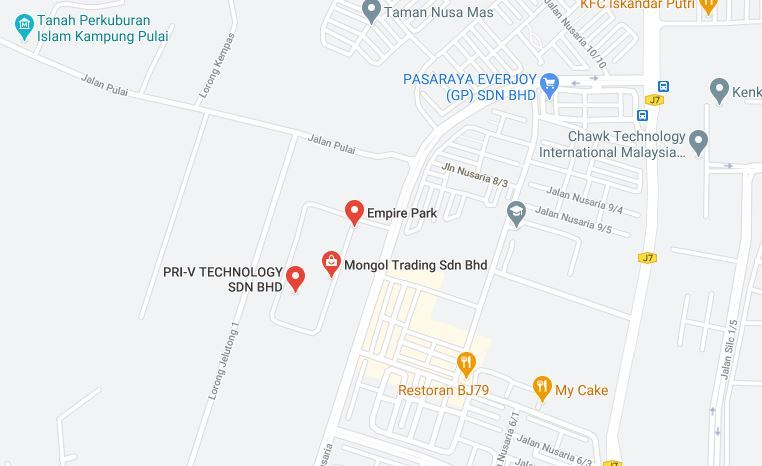 Google Map location for Mongol Trading Sdn Bhd