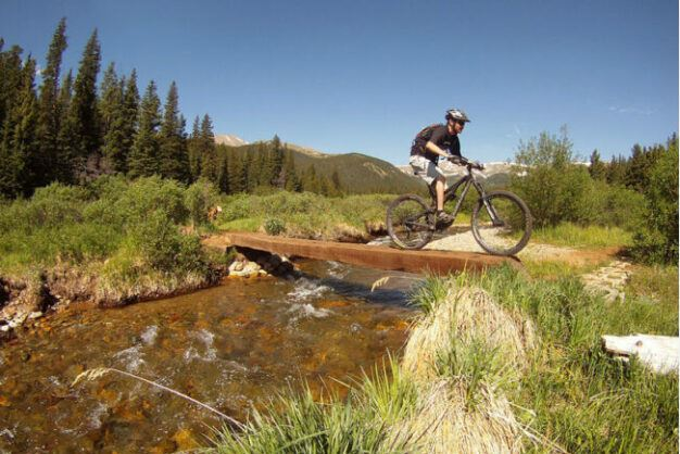 Mountain trail rides in US as the featured image for NCM Moscow E-bike Post.