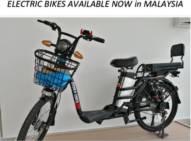 Zebra Ebike Model X Electric Bike - Available Now in Malaysia as the featured image for post.