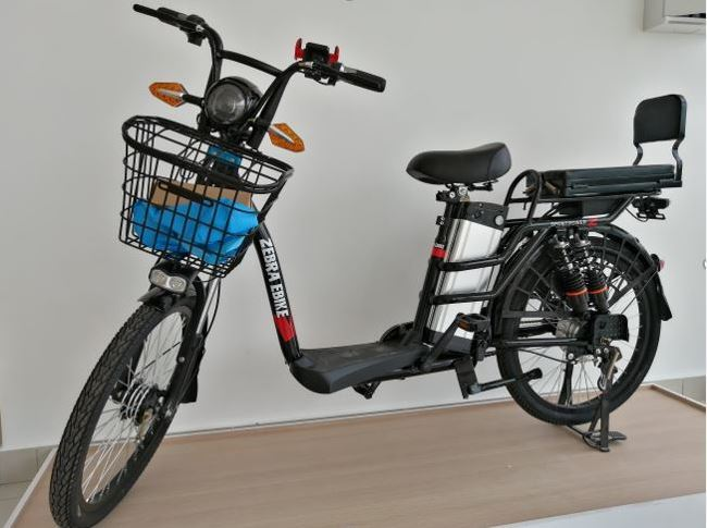 Zebra Ebike Model X - The first available electric bike in Malaysia.