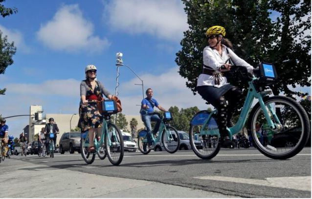 Biking to work as the featured image for LECTRIC XP Folding E-Bike Post.